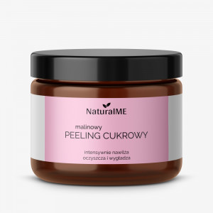 Malinowy peeling cukrowy NaturalME